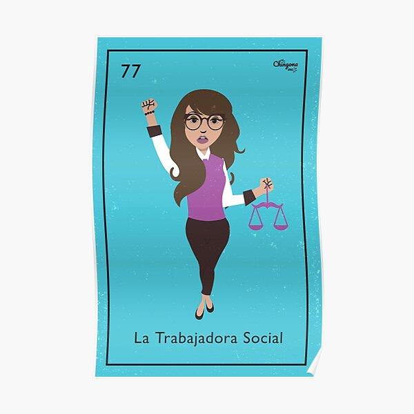 La Trabajadora Social Libra  Poster