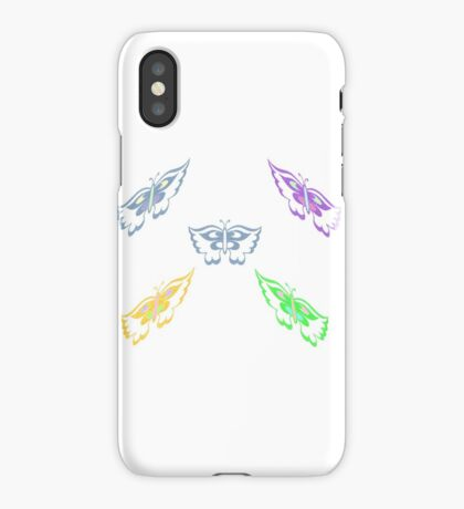 Flutterby 5 iPhone Case/Skin