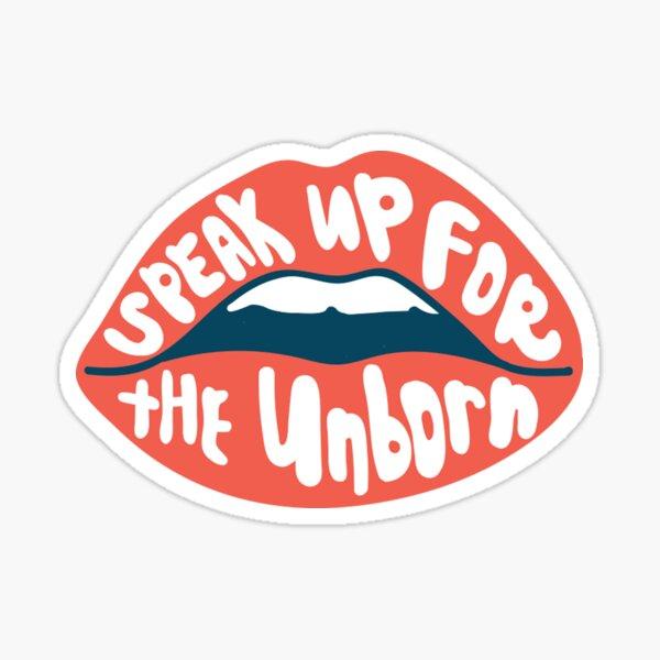Speak Up  Sticker