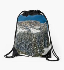 Chaine de Fiz French Alps  Drawstring Bag