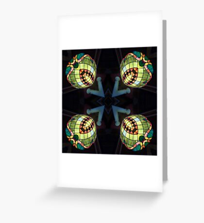 Orbes of Light Greeting Card