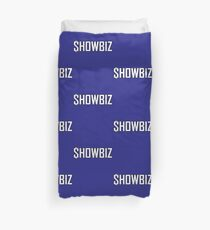 Showbiz White Duvet Cover