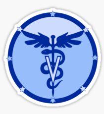 veterinary logo 2 Sticker
