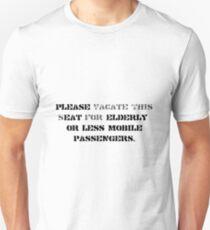 """eat the elderly """"black"""" T-Shirt"""