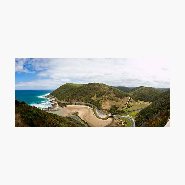 Lorne from above Photographic Print