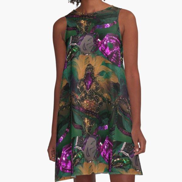 Mardi Gras VIII A-Line Dress