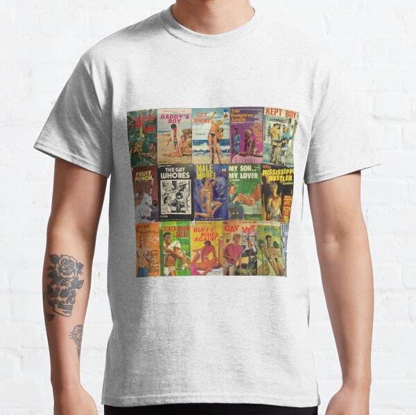 Gay Vintage Erotica #2 Classic T-Shirt