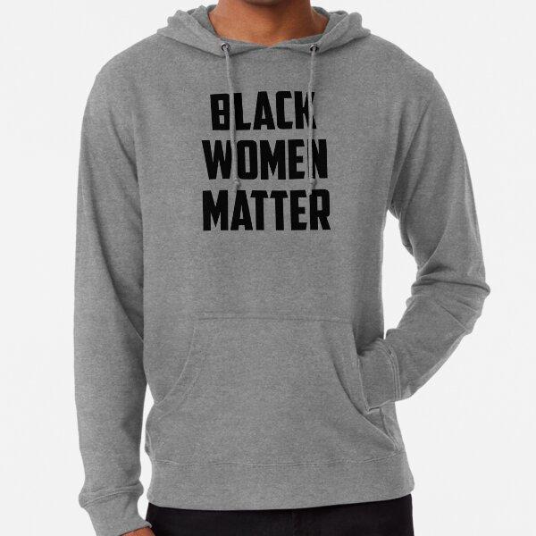 Black Women Matter Lightweight Hoodie