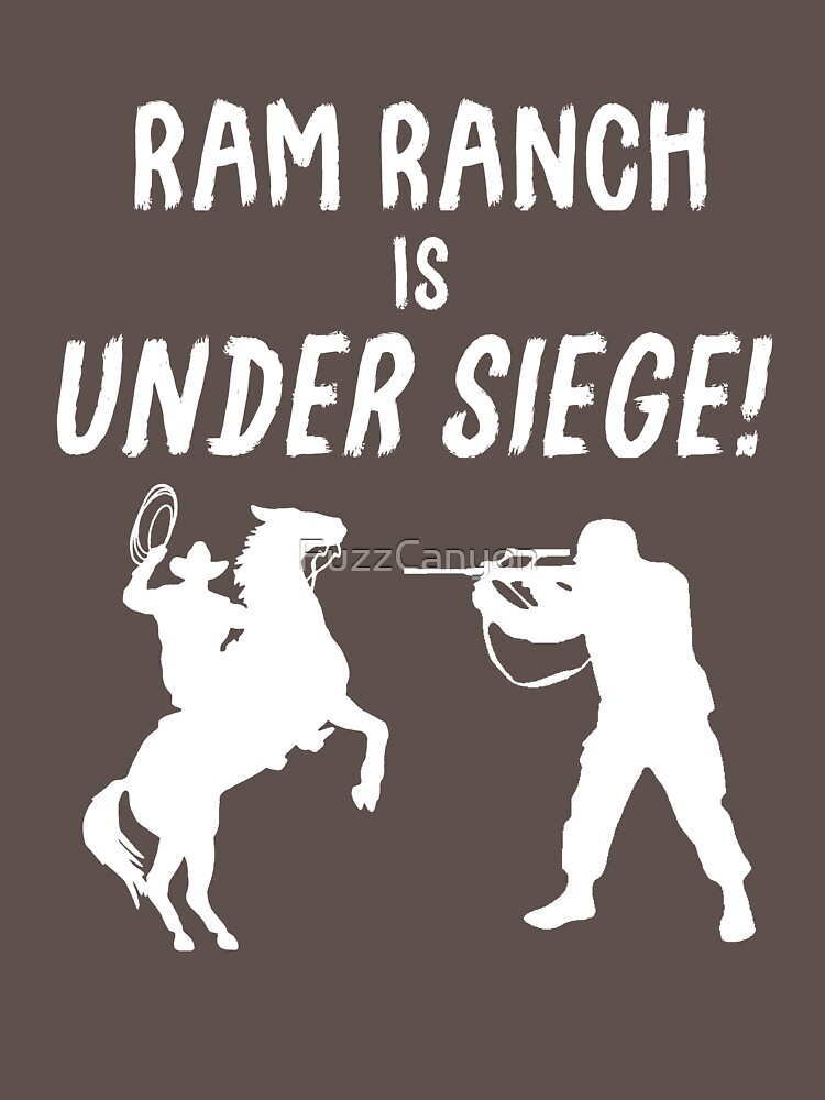 Ram Ranch Is Under Siege! by FuzzCanyon