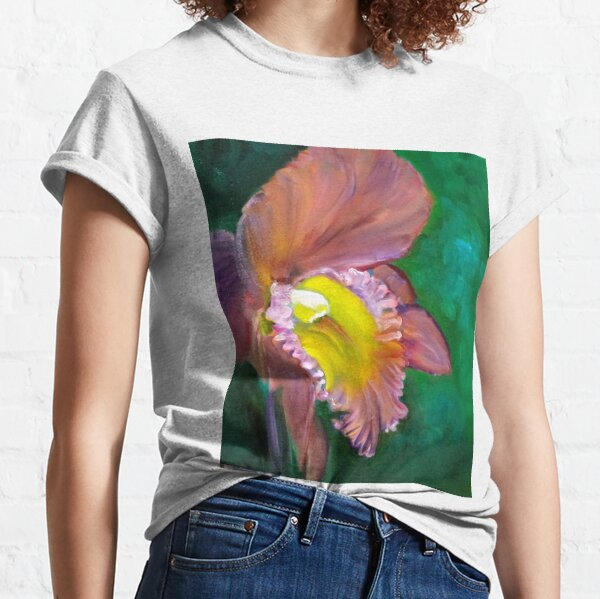 Trend t-Shirt,Aquarelle Blossoming Petals Fashion Personality Customization