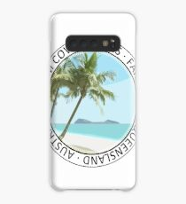 Palm Cove Art Round 2 Case/Skin for Samsung Galaxy