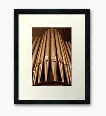 Pipe Organ Framed Print