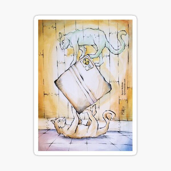 Schrodinger's Cat(s) Sticker