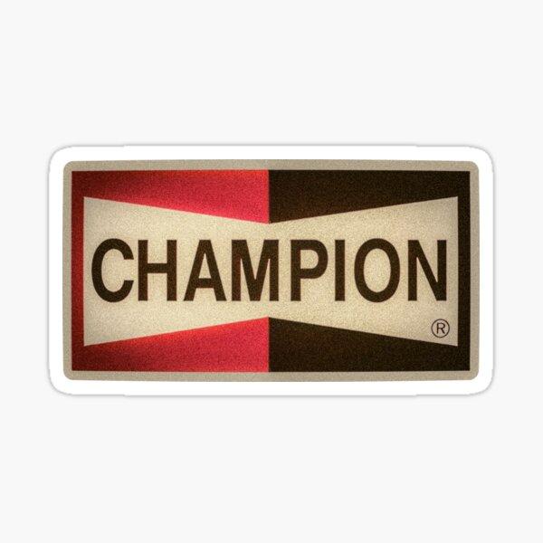 Champion Auto Parts Sticker