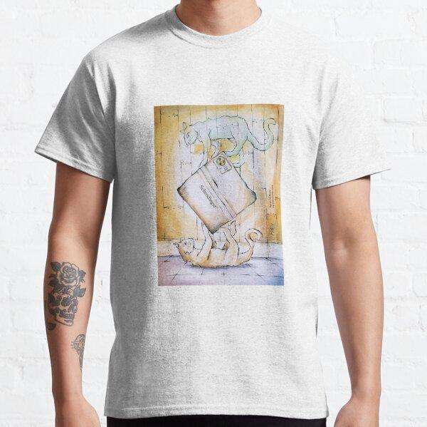 Schrodinger's Cat(s) - labelled box Classic T-Shirt
