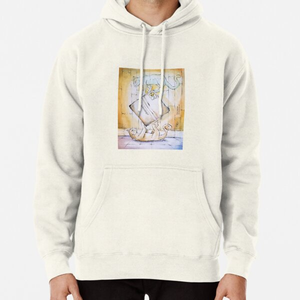 Schrodinger's Cat(s) - labelled box Pullover Hoodie