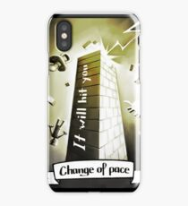 Tarot Greeting Card - Change of pace iPhone Case/Skin