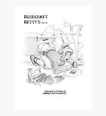 Bushcraft Betty01 Photographic Print