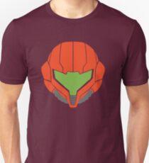 Samus' Powersuit Helmet Unisex T-Shirt
