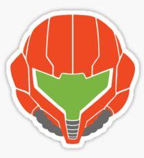 Samus' Powersuit Helmet Sticker