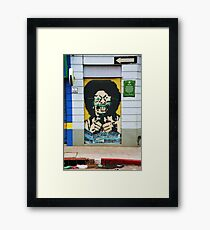 Street Art 2 Framed Print