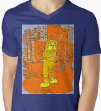 Lion 6 Men's V-Neck T-Shirt