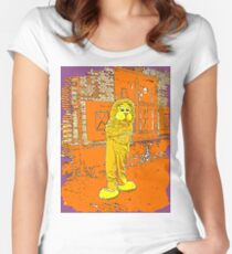 Lion 7 Women's Fitted Scoop T-Shirt