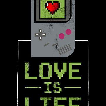 «L'amour est la vie - amant de gamer de gamer» par ChillingNation