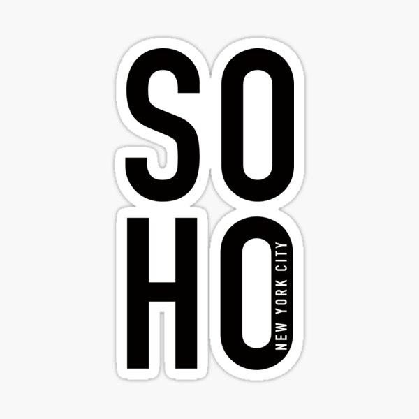 Soho  Sticker