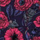 The mice party by Katerina Kirilova