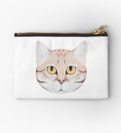 Black-footed Cat Zipper Pouch