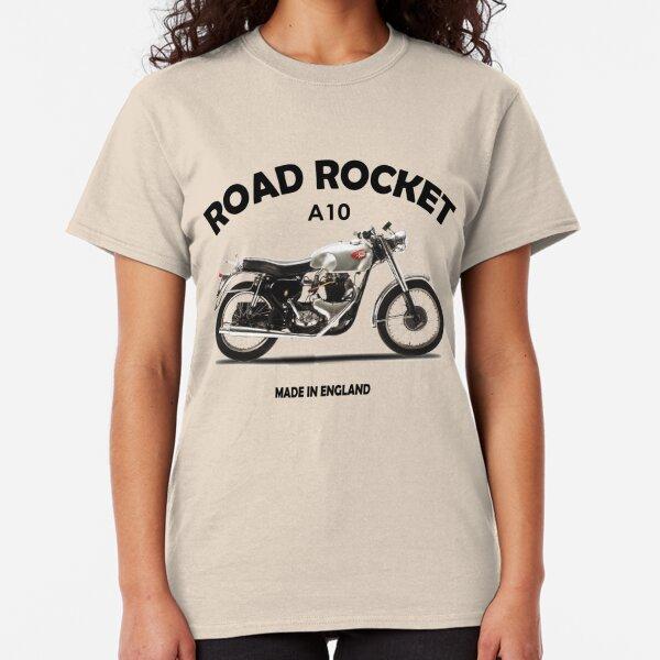 Tee shirt rocket cafe racer,bsa,harley davidson,kustom,Indian,motorcycle,norton,