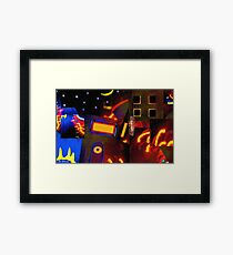 Banana Moon over Broadway Framed Print