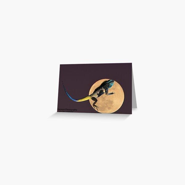 Agama Moon Greeting Card