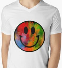 Smiley Men's V-Neck T-Shirt