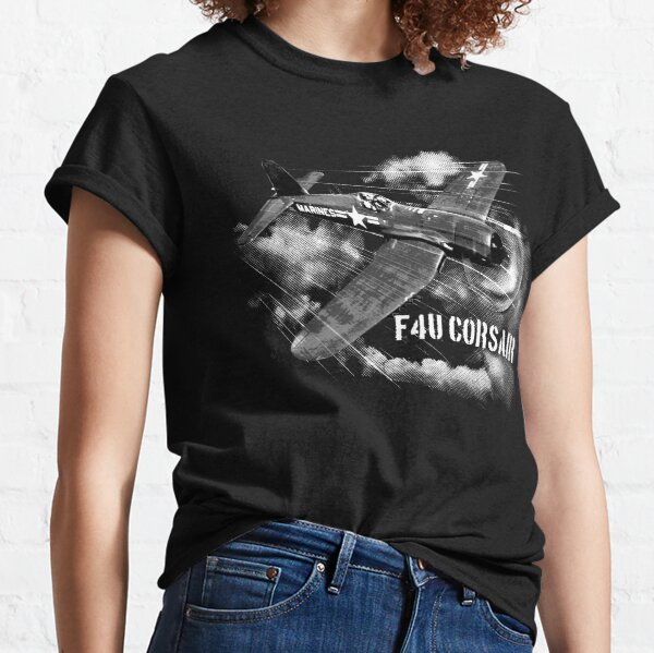 T-Shirt 3D Printed Old Bombers Airplane in Formation Casual Tees