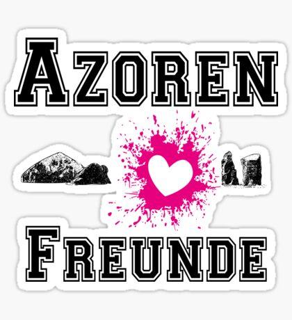 Azoren Freunde Sticker