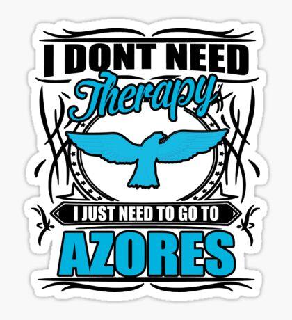 Azores Therapy Sticker