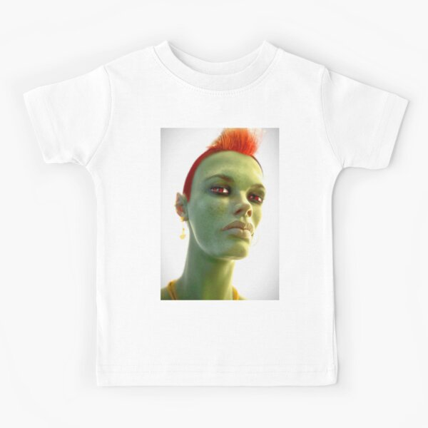 Alien Woman Kinder T-Shirt