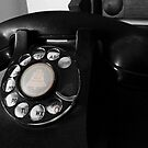 vintage phone by tego53