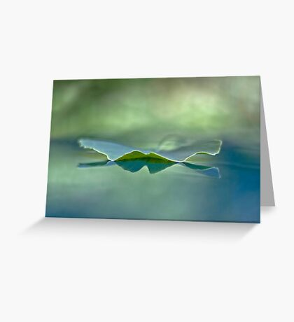 Whispering light Greeting Card