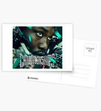 Meek Mill Championships album cover Postcards