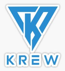 Blue Funneh Krew Sticker