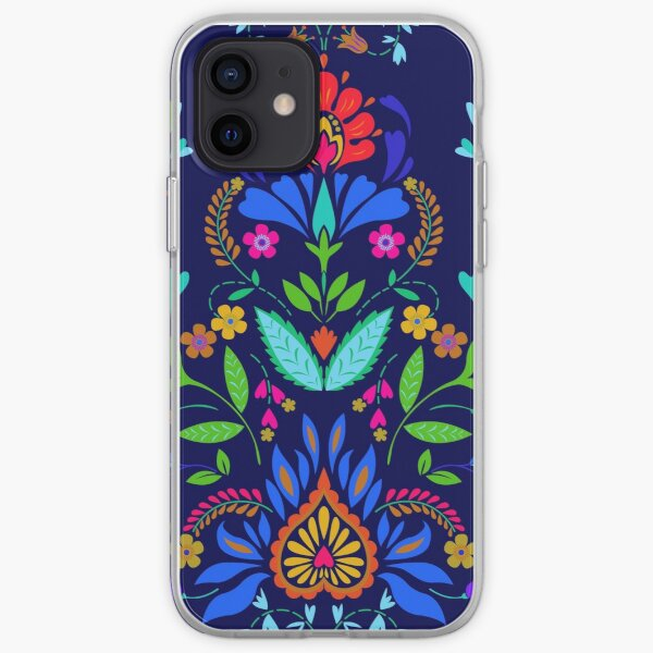 folk pattern - mexican vacation.  iPhone Soft Case