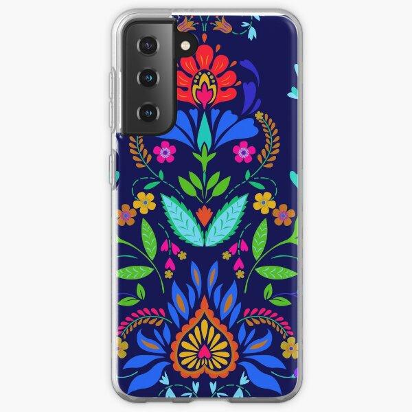 folk pattern - mexican vacation.  Samsung Galaxy Soft Case