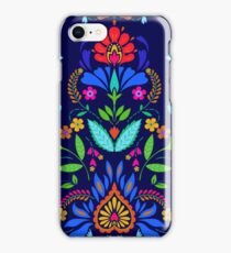 folk pattern - mexican vacation.  iPhone Case/Skin