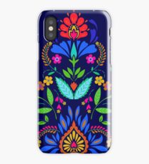 folk pattern - mexican vacation.  iPhone XS Case