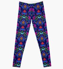 folk pattern - mexican vacation.  Leggings