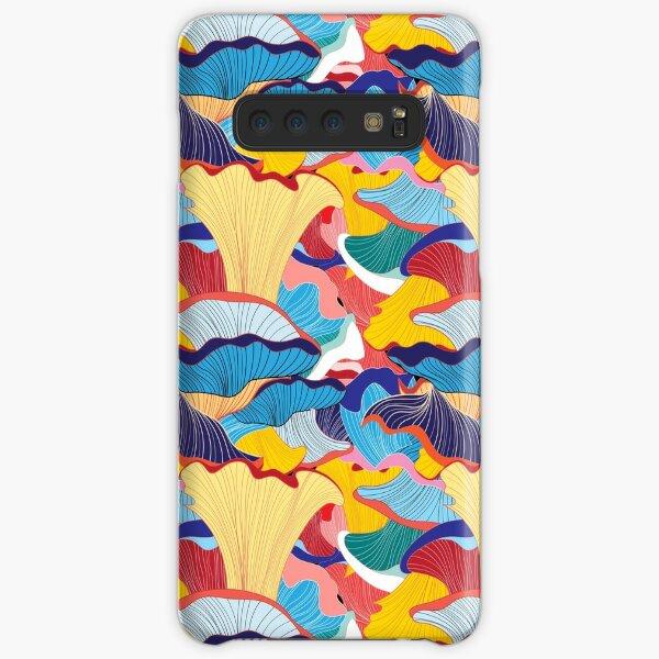 pattern of mushrooms Samsung Galaxy Snap Case