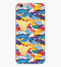 pattern of mushrooms iPhone Case